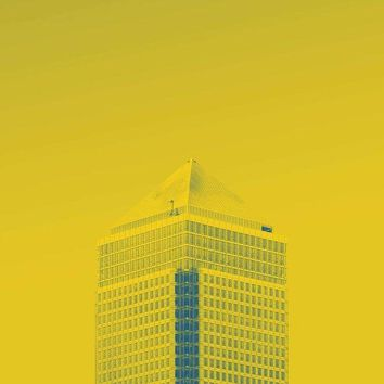 Urban Architecture - Canary Wharf, London, United Kingdom 6a - Art Print