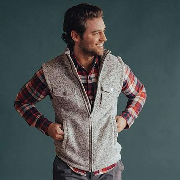 Lincoln Fleece Vest by The Normal Brand