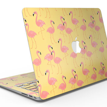 Tropical Flamingo v1 - MacBook Air Skin Kit