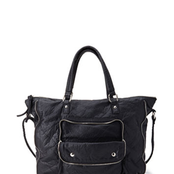 FOREVER 21 Textured Faux Leather Bag