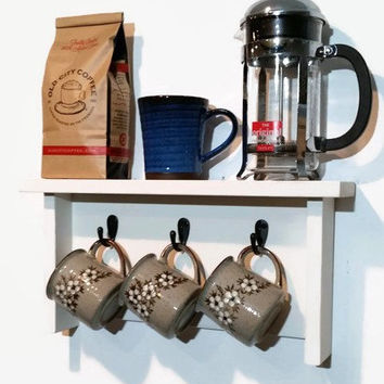 Coffee Station Wall Shelf