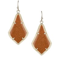 Alex Earrings in Goldstone - Kendra Scott Jewelry