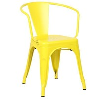 Trattoria Arm Chair | Yellow