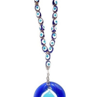 10 Iinches Rosary Style Evil Eye Office And Home Decor