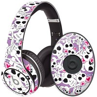 Skull Princess Skin  for the Beats Studio Headphones & Case by skinzy.com