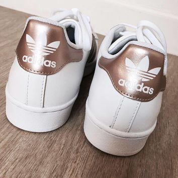 Adidas Originals SUPERSTAR Champagne Casual Sneakers