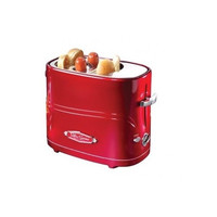Electric Retro Series Pop Up Hot Dog Toaster Kitchen Warmer Gadget Bagel Cooking