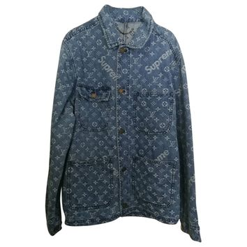 Jacket LOUIS VUITTON X SUPREME Blue