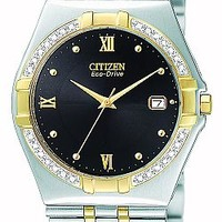 Citizen BM0724-51E Men's Elektra Diamond Two Tone Watch