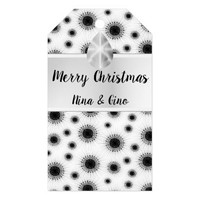 Sparkling Snowflakes Gift Tags