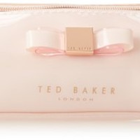 Ted Baker Pam Cosmetic Case,Nude Pink,One Size