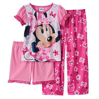 Disney's Minnie Mouse Toddler Girl Pajama Set
