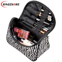 Professional Cosmetic Bag Large Capacity Portable Women Makeup cosmetic bag.