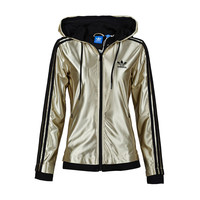 """Adidas"" Hooded Zipper Cardigan Sweatshirt Jacket Coat Windbreaker Sportswear"
