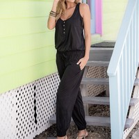Desert Kiss Jumpsuit Black