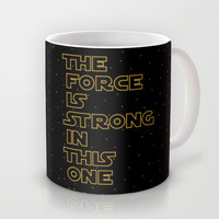 Use the Force! Mug by John Medbury (LAZY J Studios)