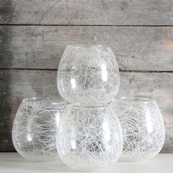 vintage light globes / glass globes / lighting covers, mid century