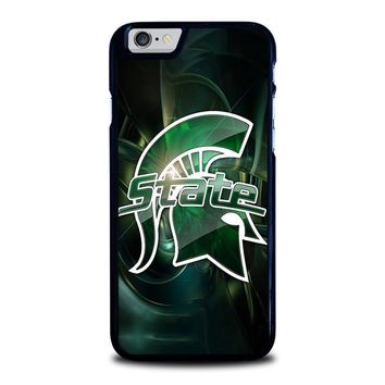 michigan state spartans iphone 6 6s case cover  number 1