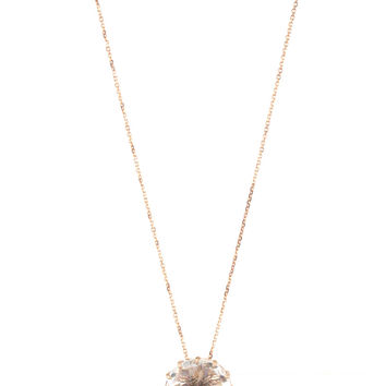 KALAN by Suzanne Kalan White Topaz Drop Necklace