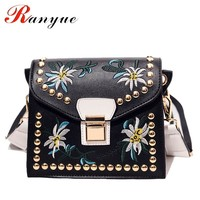 Fashion Women Leather Messenger Bag