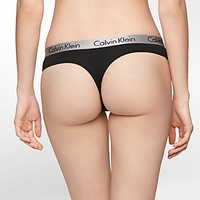radiant cotton stretch thong | Underwear | Calvin Klein