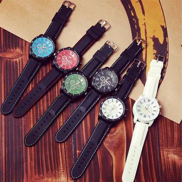 cool light up silicone strap sports watch gift box 465  number 1