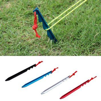 New Tent Peg Hiking Accessories Camping Aluminum Alloy Equipment Tent Nail