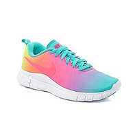 Nike Girls' Free Express Running Shoes - Hyper Jade/Hyper Pink/Volt/Hy