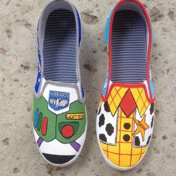 Toy Story Buzz and Woody Shoes