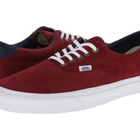 Vans Era 59(Suede/Leather)Oxblood Red