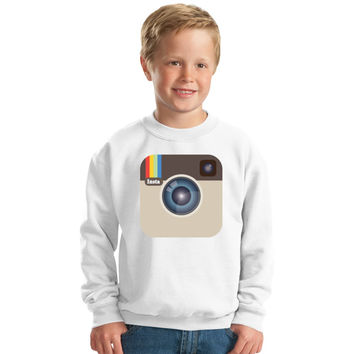 Instagram Love Kids Sweatshirt