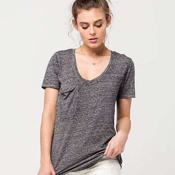 OTHERS FOLLOW Relaxed Fit Womens Pocket Tee | Knit Tops + Tees