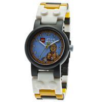 LEGO Star Wars C3PO Kid's Minifigure Interchangeable Links Watch | Overstock.com Shopping - The Best Deals on Boys' Watches