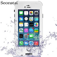 For i7 Shockproof Underwater Diving Waterproof Cases Cover For iphone 7 Outdoor Phone Case Cover Water Proof For iPhone7 Plus