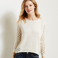 Aeropostale  Pieced Sweater