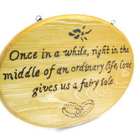 Wedding Gift Sentimental quote on love and by KnottyNotions