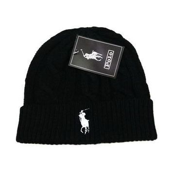 Polo Ralph Lauren Women Men Embroidery Beanies Knit Hat Warm Woolen Hat-15