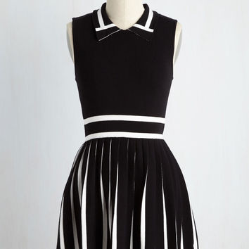 Tap Into Your Expertise Sweater Dress | Mod Retro Vintage Dresses | ModCloth.com