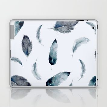 fly like a feather; Laptop & iPad Skin by Pink Berry Patterns