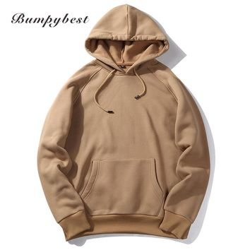 Fashion Hooded Funny Solid Colors Men Hoodies Fitness Street wear Hip hop Tracksuits Pullover Sweatshirts