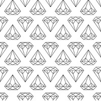 Removable Wallpaper - Diamonds Are Forever