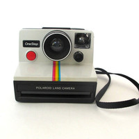 Polaroid OneStep Land Camera, FREE SHIPPING, Rainbow Camera