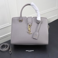 hcxx 1794 Yves Saint Laurent YSL Classic Handbag gray