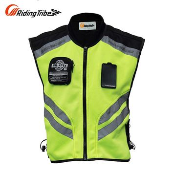 Riding Tribe Motorcycle Jacket Summer Reflective Safety Clothing Racing Vest Moto Motorbike Safety Security Reflective Vests