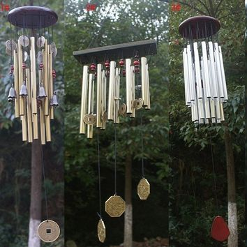 Amazing Church Wind Chimes Outdoor Yard Bells Garden Hanging Decorations Gifts