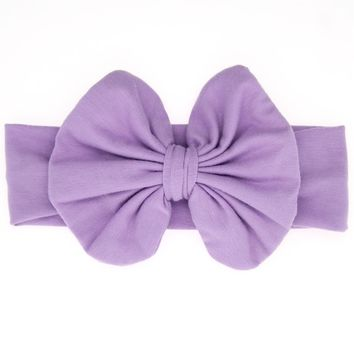 Baby Girl's Headbands and Bows for Newborns/Toddlers Cute Knotted Bow Headwrap