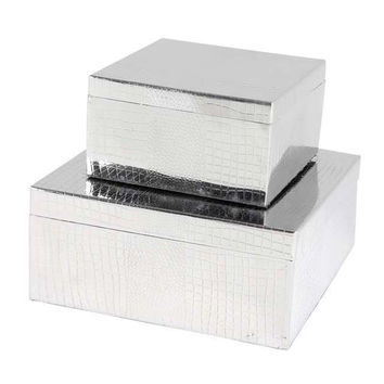 Storage Boxes (Set of 2) | Eichholtz Emma