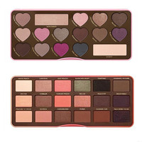 female fashion chocolate bar color eyeshadow plate High quality Beauty Cosmetics Creative Art