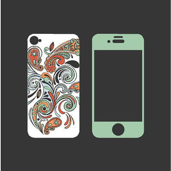 Paisley iPhone 4/4s Skin Decal