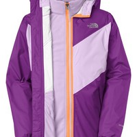 Girl's The North Face 'Anura' Hooded Waterproof TriClimate 3-in-1 Rain Jacket